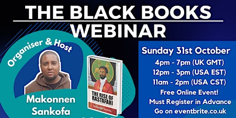 The Black Books Webinar - Black History Month Special! tickets