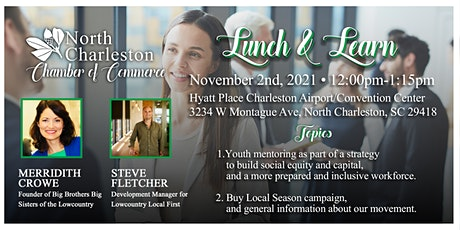 North Charleston Chamber November Lunch & Learn tickets