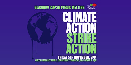 People's Assembly COP26 Rally: Climate Action - Strike Action tickets