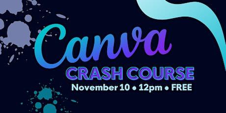 Canva Crash Course tickets