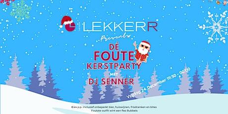 Dé Foute Kerstparty tickets