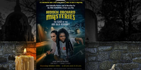 Halloween Mystery Movie Party with Hidden Orchard Mysteries tickets