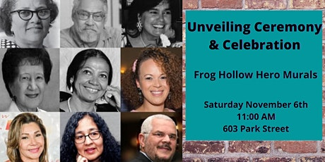 Frog Hollow Hero Mural Ceremony tickets