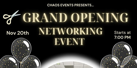 Grand Opening Networking Event tickets