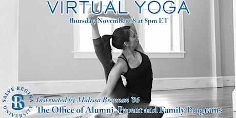 Salve Regina Alumni & Families Virtual Yoga Class tickets