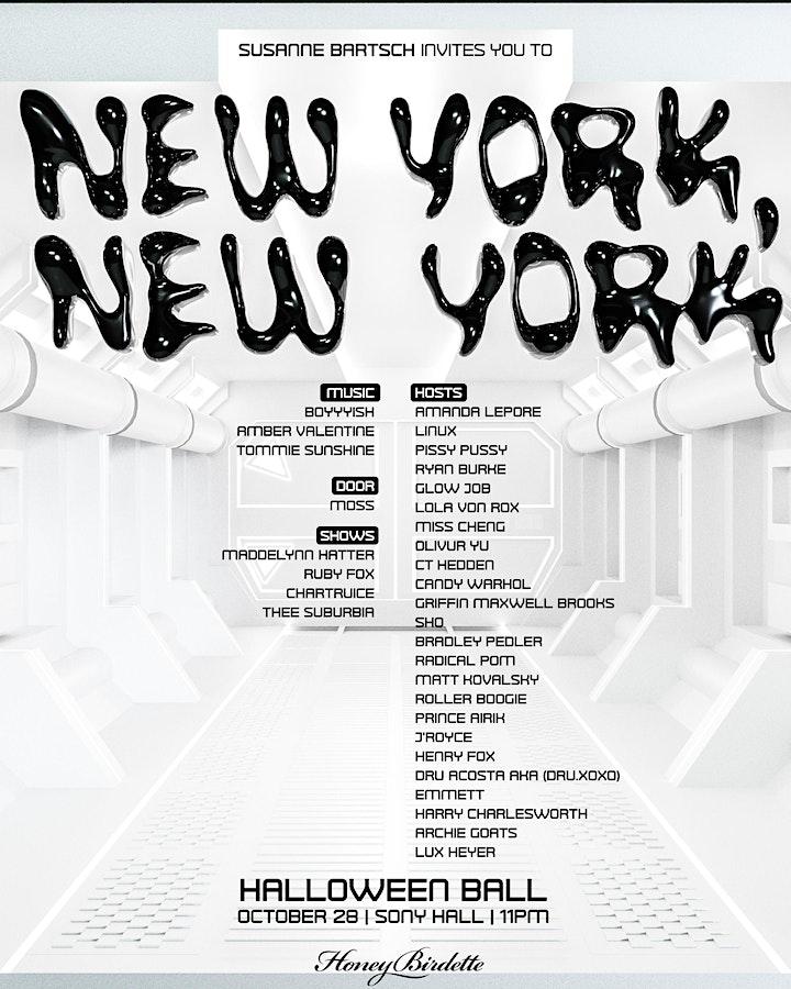 BARTSCHLAND's New York,New York! Halloween Extravaganza image