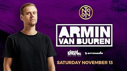 Armin Van Buuren @ Noto Philly November 13 tickets
