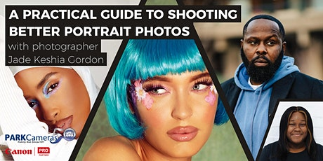 A practical guide to shooting better portrait photos tickets