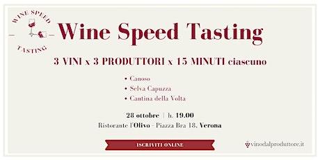 Wine Speed Tasting 28 Ottobre Verona tickets