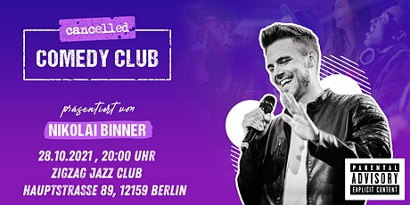 """""""C.C.C - Cancelled Comedy Club"""" - Authentische Standup Comedy Tickets"""