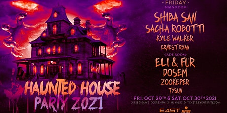 HAUNTED HOUSE PARTY 2021 (FRIDAY) tickets