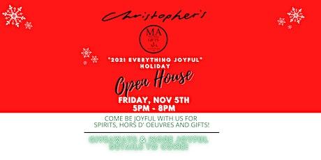 2021 EVERYTHING Joyful Holiday Open House tickets