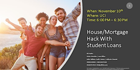 House/Mortgage Hack With Student Loans tickets