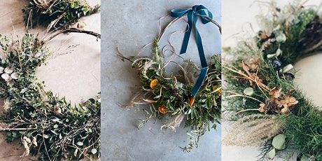 Festive Wreath Making with Three Acre Blooms - Morning tickets