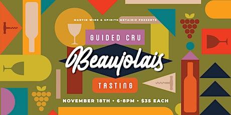 Guided Cru Beaujolais Tasting tickets