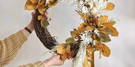 Rococo Fall Wreath Workshop at Remnant Brewing tickets