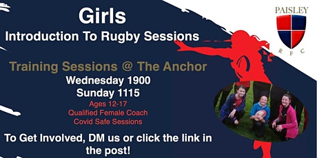 Paisley RFC Youth Rugby Training - Midi Girls tickets