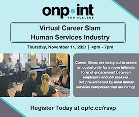 Career Slam- Human Services tickets
