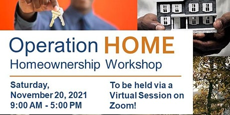 Operation Home Workshop - November 2021 tickets