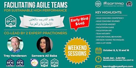 Facilitating Agile Teams for Sustainable High Performance biglietti