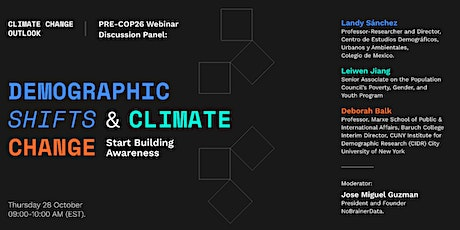 Demographic Shifts and Climate Change: Start Building Awareness tickets