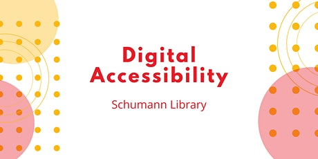 Digital Accessibility at Your Library (IN-PERSON) tickets