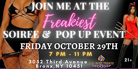 Freaky Friday Adult Soiree & Pop Up Shop Event tickets