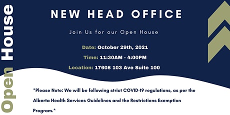 Frontline Contracting New Head Office Open House tickets