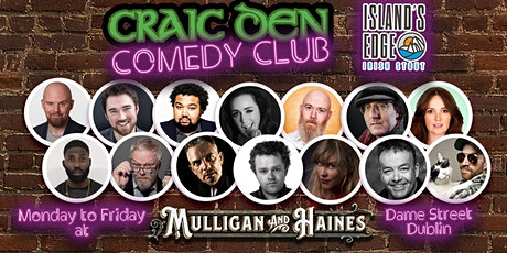 Craic Den Comedy Club - November 18th tickets