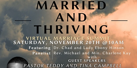Married and Thriving Post-Pandemic Virtual Marriage Summit tickets