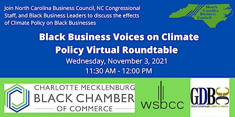 NC Black Business Chambers Co-host Virtual Business Roundtable with NCBC tickets