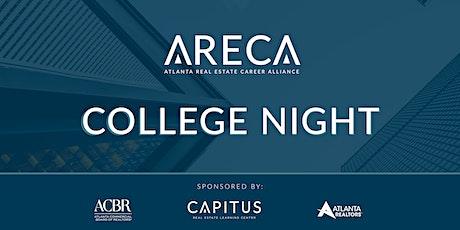 2022 ARECA College Night tickets