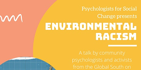 Environmental Racism, Community Psychology and Climate Justice tickets