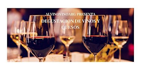 Degustación Vinos Boutique y Quesos artesanales entradas