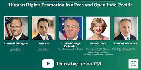 Virtual Event | Human Rights Promotion in a Free and Open Indo-Pacific tickets