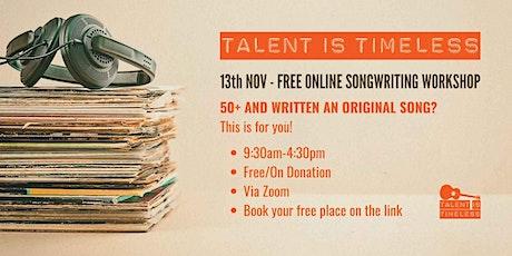 Songwriting Online Workshop (UK) tickets