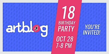 Artblog's 18th Birthday Party tickets