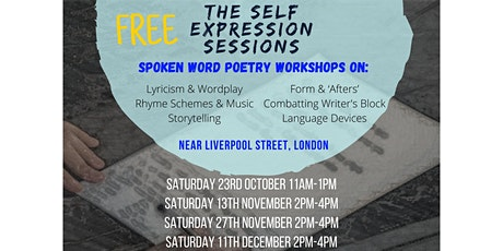 The Self Expression Sessions tickets