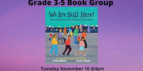 Grades 3-5 Book Group tickets