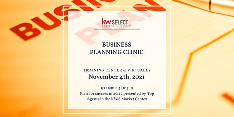 Business Planning Clinic for Realtors tickets