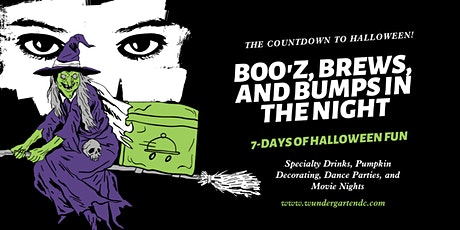 Boo'z, Brews, and Bumps in the Night: 7-Days of Halloween Fun tickets