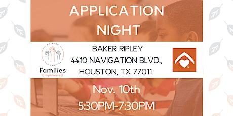 Houston Application Night / Noche de Aplicación tickets