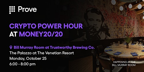 Crypto Power Hour at Money20/20 tickets
