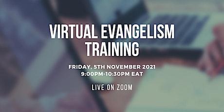Virtual Evangelism Training tickets