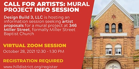 Design Build 3, LLC Mural Project Information Session tickets