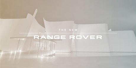 Lanzamiento mundial del Nuevo Range Rover boletos