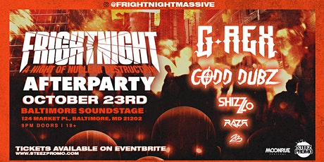 Official Fright Night After Party with G-Rex, Codd Dubz & Shizz Lo tickets