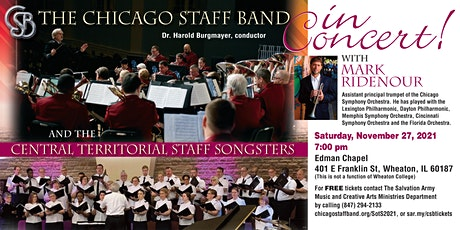 Chicago Staff Band Sounds of the Season 2021 tickets