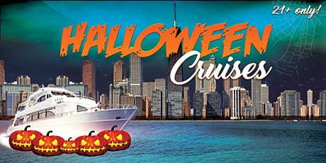 Halloween Cruises on Lake Michigan - Party on a 3-story Yacht w/ a DJ tickets