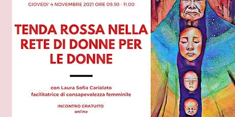 Tenda Rossa nella Rete di Donne per le Donne - novembre tickets